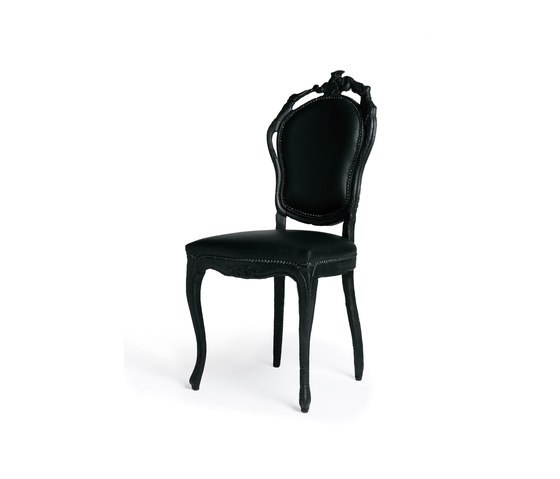 smoke Dining chair de moooi | Chaises
