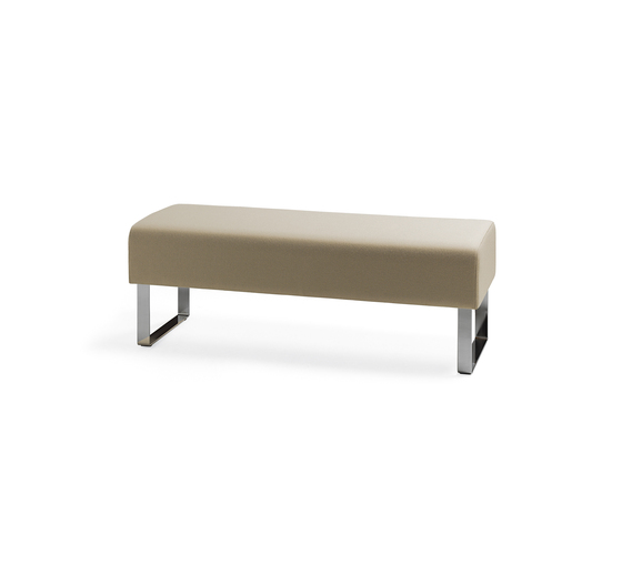 Monolite bench by Materia | Waiting area benches