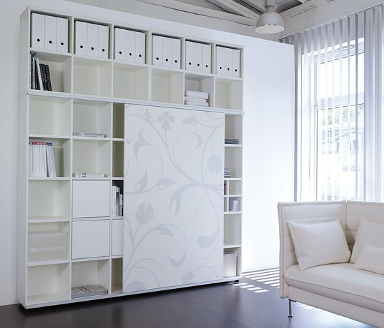 basic S Shelf system de werner works | Armoires