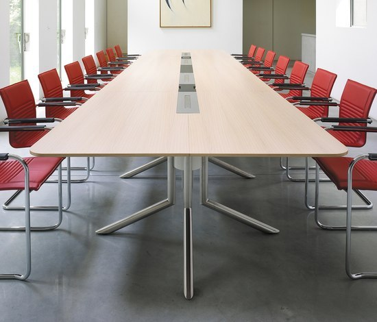 Audience conference table by Haworth | Contract tables