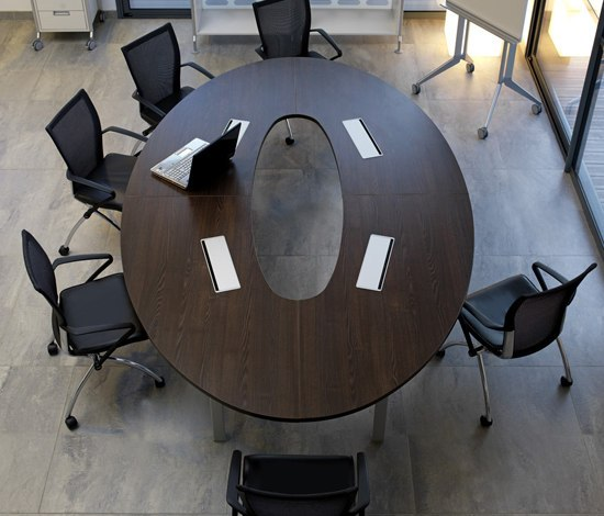 Epure meeting by Haworth   Conference tables