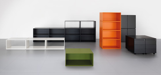 K22 storage modules by Haworth | Cabinets