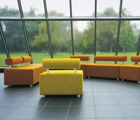SE04 di Haworth | Elementi di sedute componibili