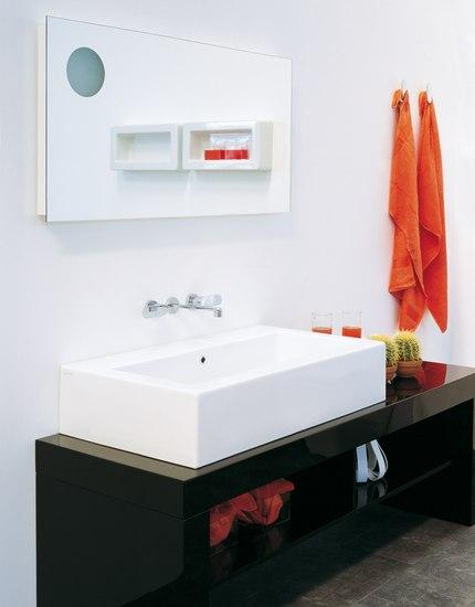 Acquagrande 100 basin by Ceramica Flaminia | Wash basins