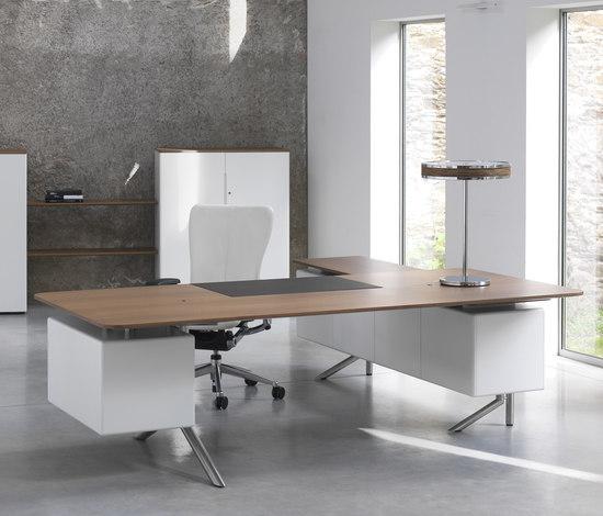 Audience Executive desk di Haworth | Scrivanie direzionali