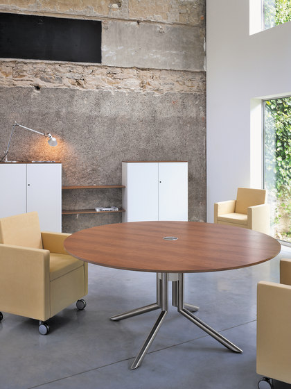 Audience conference table by Haworth | Meeting room tables