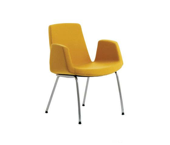 Jolly by Ares Line | Visitors chairs / Side chairs