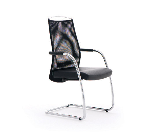 Link by Ares Line | Visitors chairs / Side chairs