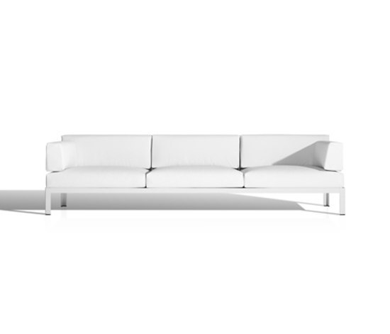 Nak sofá 3 plazas de Bivaq | Sofás de jardín