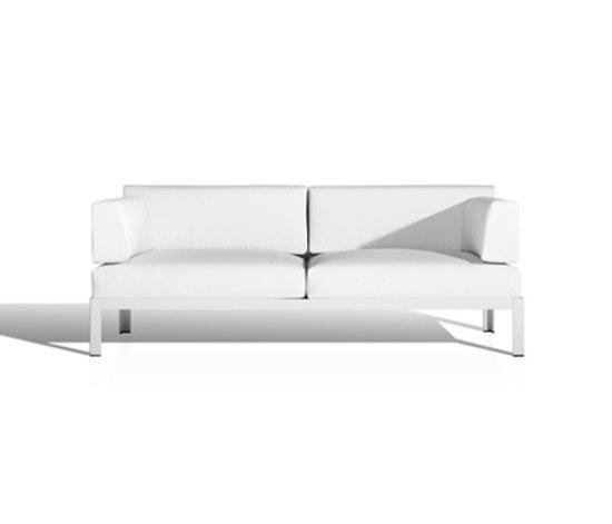 Nak 2-seater sofa by Bivaq | Garden sofas