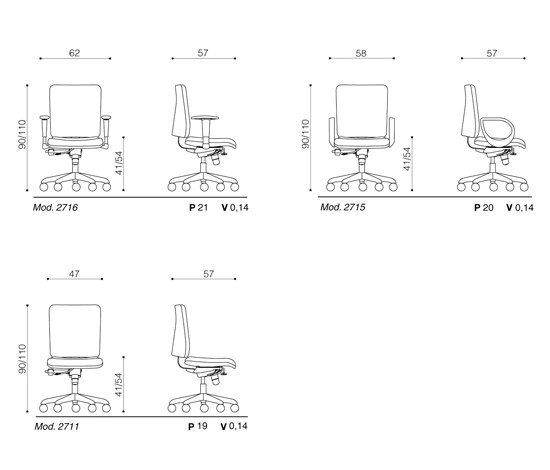 Smart by Ares Line | Task chairs