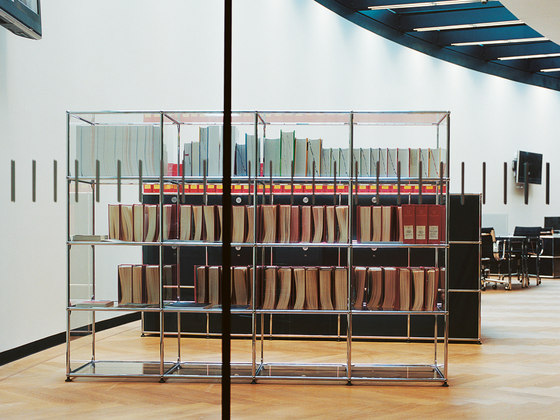 USM Haller Shelving by USM | Office shelving systems