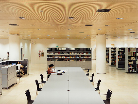 USM Haller Storage di USM | Librerie da biblioteca