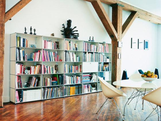 usm haller regal regale von usm architonic. Black Bedroom Furniture Sets. Home Design Ideas