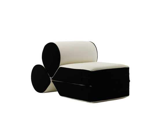 Drop armchair de Baleri Italia by Hub Design | Poufs