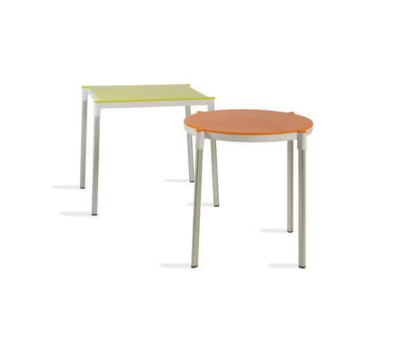 H20 stackable by Resol-Barcelona Dd | Multipurpose tables
