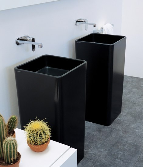 Monowash 40 basin by Ceramica Flaminia | Vanity units