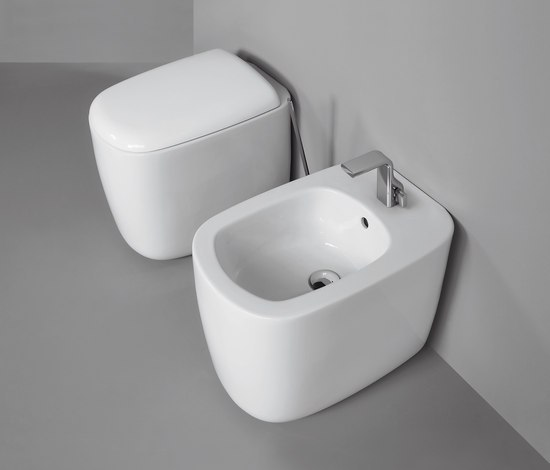 Mono wc | bidet by Ceramica Flaminia | Toilets