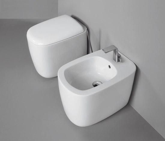 Mono di ceramica flaminia mono vaso bidet mono 100 - Flaminia sanitari bagno ...