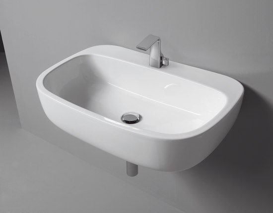 Mono 74 basin by Ceramica Flaminia | Wash basins