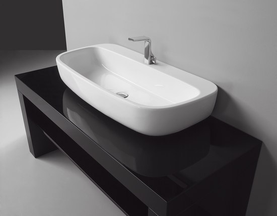 Mono 100 basin by Ceramica Flaminia | Wash basins