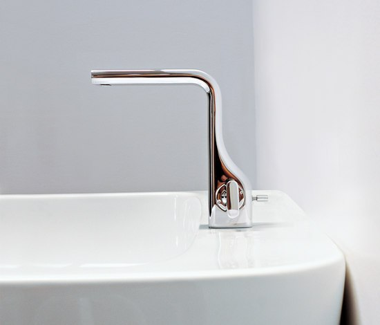 Noke' mixer by Ceramica Flaminia | Wash-basin taps
