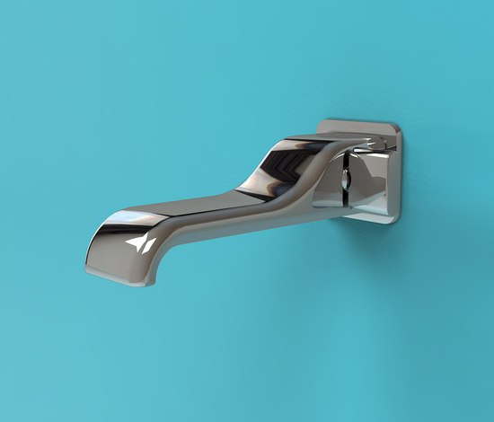 Noke' mixer by Ceramica Flaminia | Bath taps