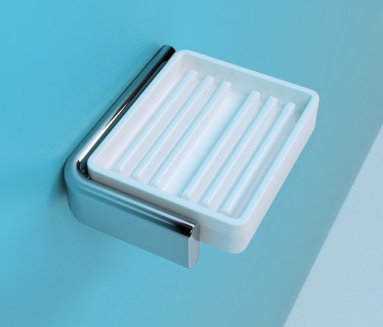 Noke' soap holder by Ceramica Flaminia | Soap holders / dishes