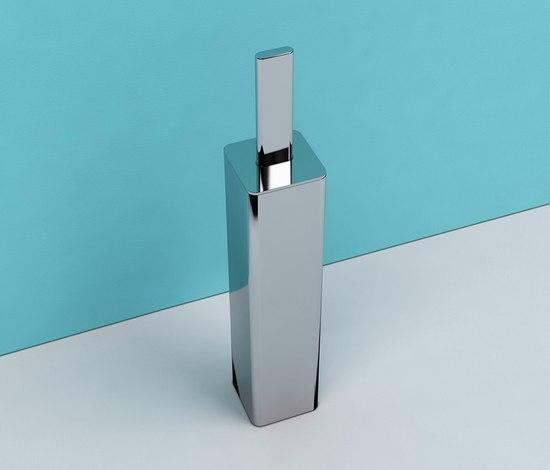 Noke' brush holder by Ceramica Flaminia | Toilet brush holders