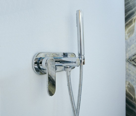 One mixer by Ceramica Flaminia | Shower taps / mixers