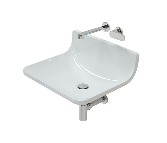 Plate basin by Ceramica Flaminia | Wash basins