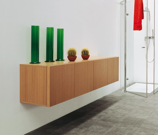 Simple cabinet by Ceramica Flaminia | Wall cabinets