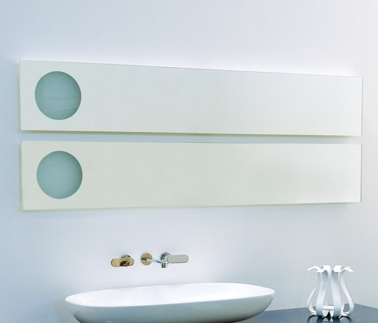 Simple 150 I 180 mirror by Ceramica Flaminia | Wall mirrors