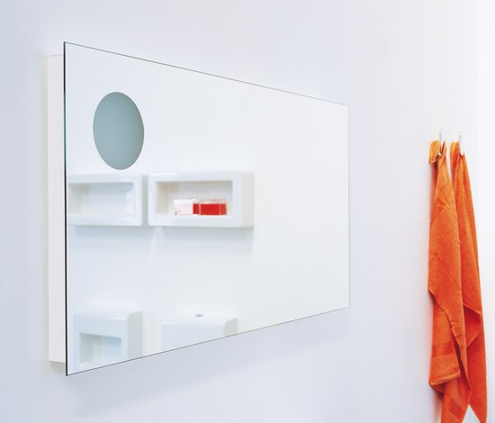 Simple 120 mirror by Ceramica Flaminia | Wall mirrors