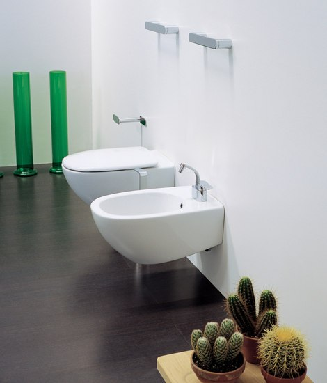 Spin wc | bidet by Ceramica Flaminia | Toilets