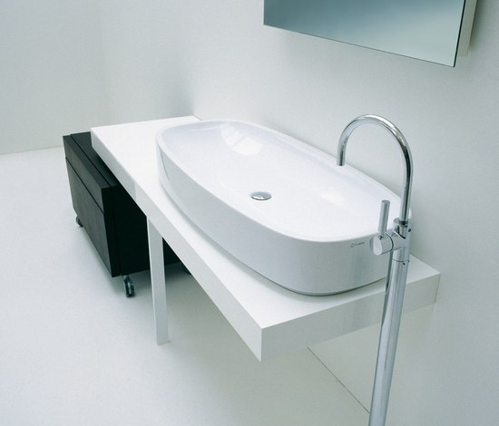 Step basin by Ceramica Flaminia | Wash basins
