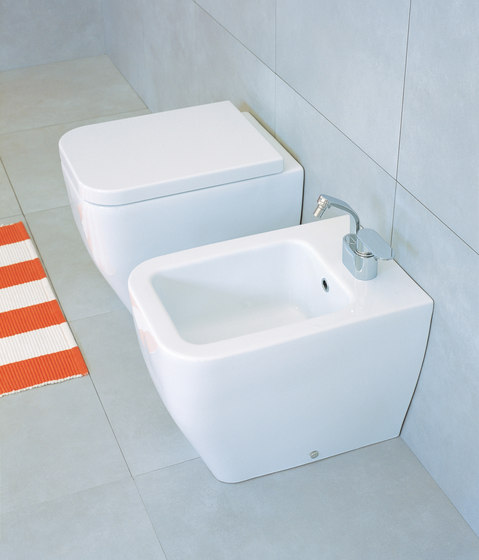 Terra wc | bidet by Ceramica Flaminia | Toilets