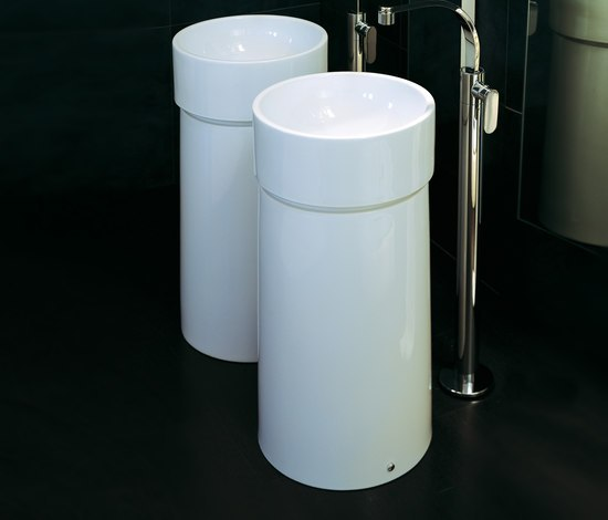 Twin column by Ceramica Flaminia | Vanity units