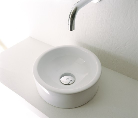 Mini Twin Lavabos De Ceramica Flaminia Architonic