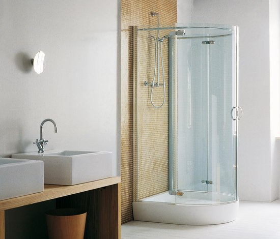 Twin Space by Ceramica Flaminia | Shower trays