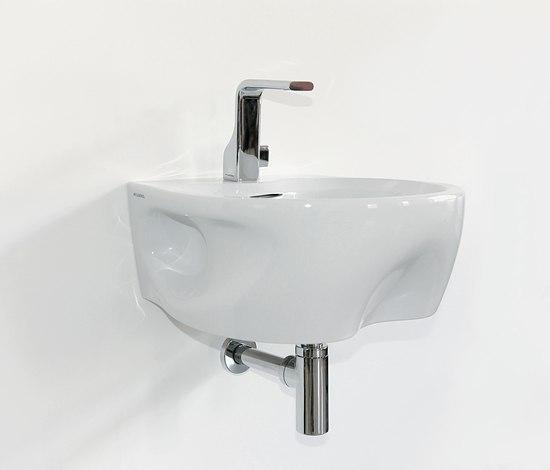 Void 44 basin by Ceramica Flaminia | Bidets