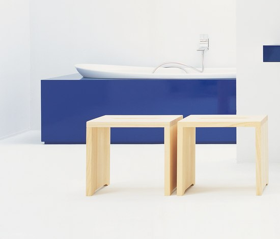 Space stool by Ceramica Flaminia | Stools / Benches