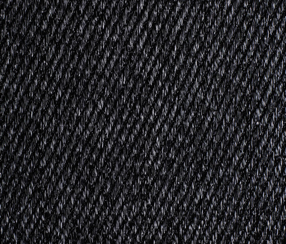 BKB Sisal Plain Black by Bolon | Wall-to-wall carpets