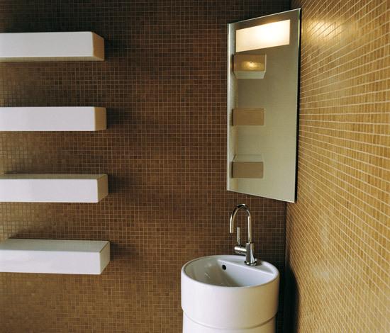 Corner mirror de Ceramica Flaminia | Armoires à miroirs