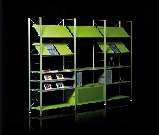 Serie estanterias greek de Supra   Systèmes d'étagères