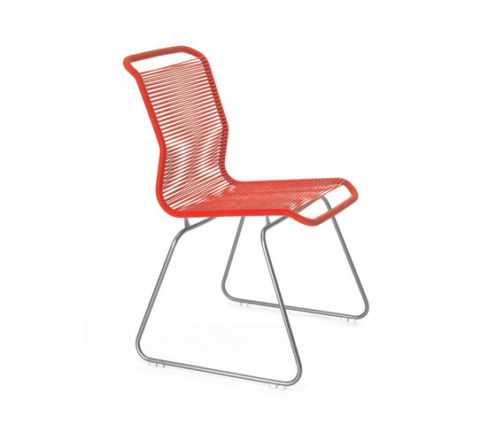 Panton One Chair | zen red by Montana Møbler | Restaurant chairs