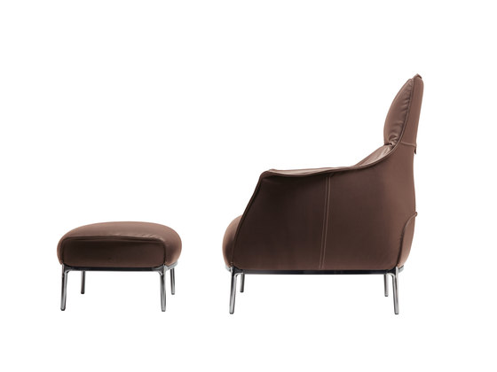 Archibald by Poltrona Frau | Lounge chairs