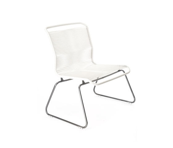 Panton One Lounge | snow by Montana Møbler | Garden armchairs
