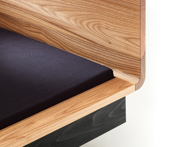 WAVE Bed de Holzmanufaktur | Lits doubles