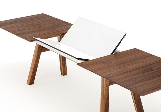 SLIGHT table by Holzmanufaktur | Restaurant tables